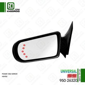 آینه بغل اسپرت سمت راننده 950-26320 (برقی-گرمکن دار)