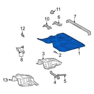 سینی کف اتاق جلو لکسوس LXو2005 تا 2007 جنیون 581116a531