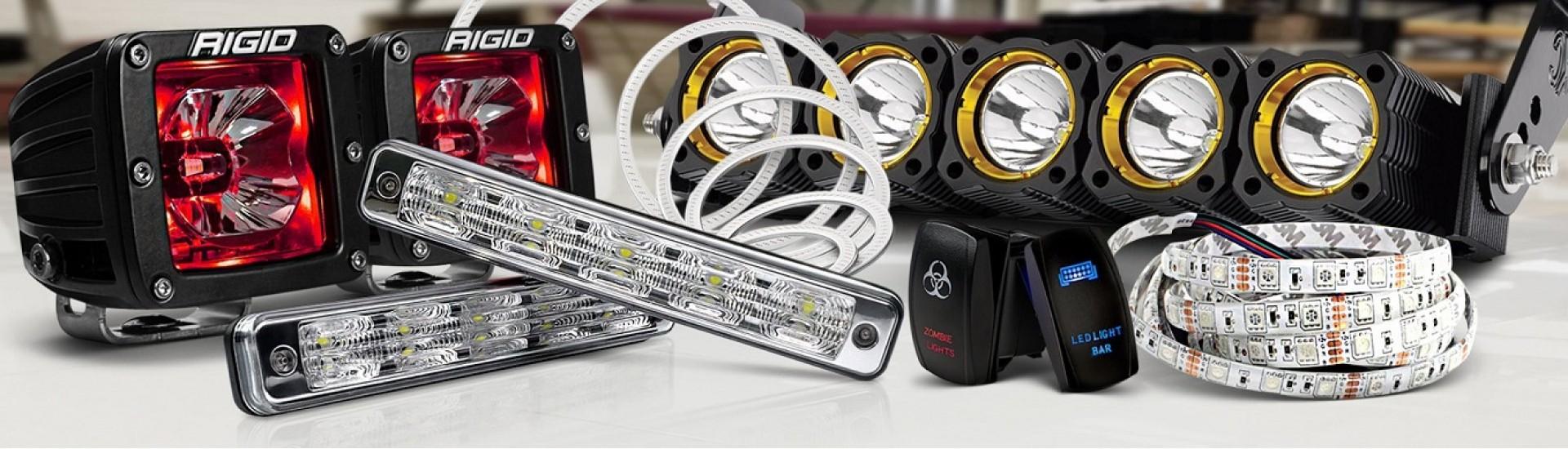 انواع چراغ اسپرت ، accessory lighting
