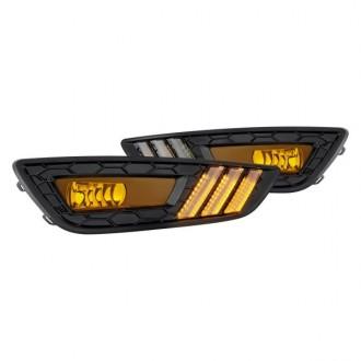 دی لایت led زرد فورد فوکوس 2015 تا 2018 جنیون 861001633
