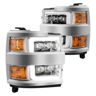 چراغ جلو اسپرتی تو سفید چوی سیلورادو 2500و 2015 تا 2019 جنیون 810015610831