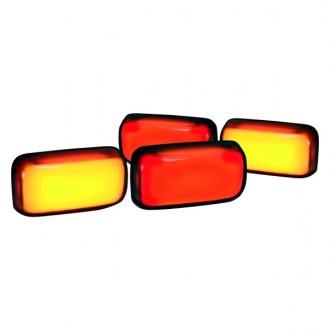 راهنمای روی گلگیر نارنجی چوی سیلورادو1500و 2014 تا 2017 جنیون 81061016980