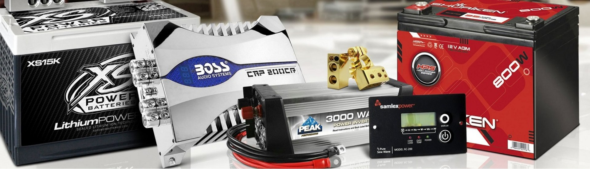 باتری و شارژ ها ، batteries & power sources